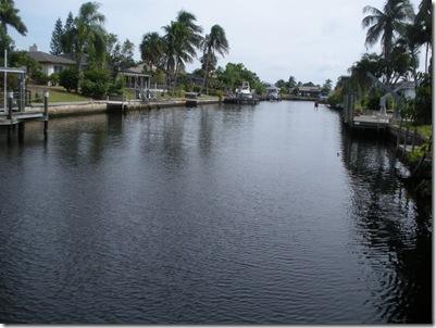 Canal dans le SE Cape Coral